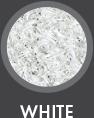 Erbus - grama sintética decorativa color carpet white