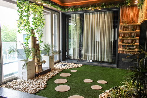 Grama Sintética Decorativa: ideias para usar em ambientes internos